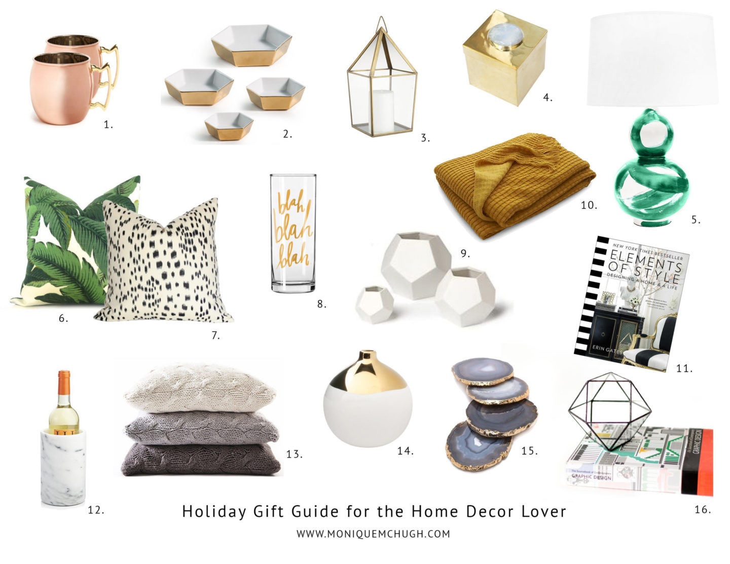 Holiday Gift Guide | The Home Decor Lover