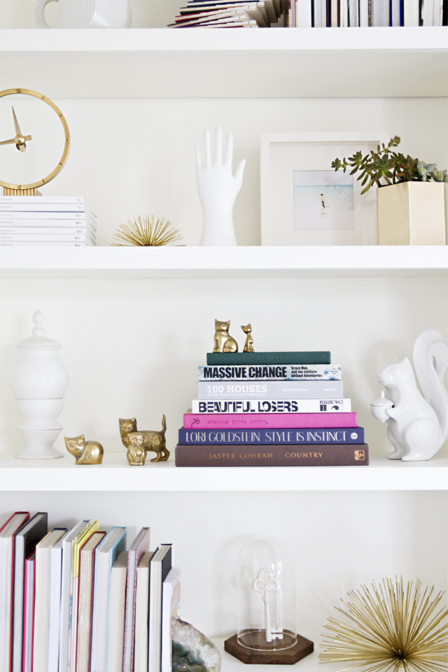 The Perfect Styled Shelf- Monique McHugh Blog