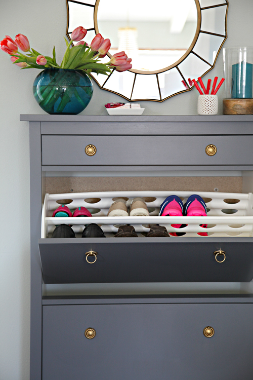 Painted_Ikea_Hemnes_Shoe_Cabinet_7