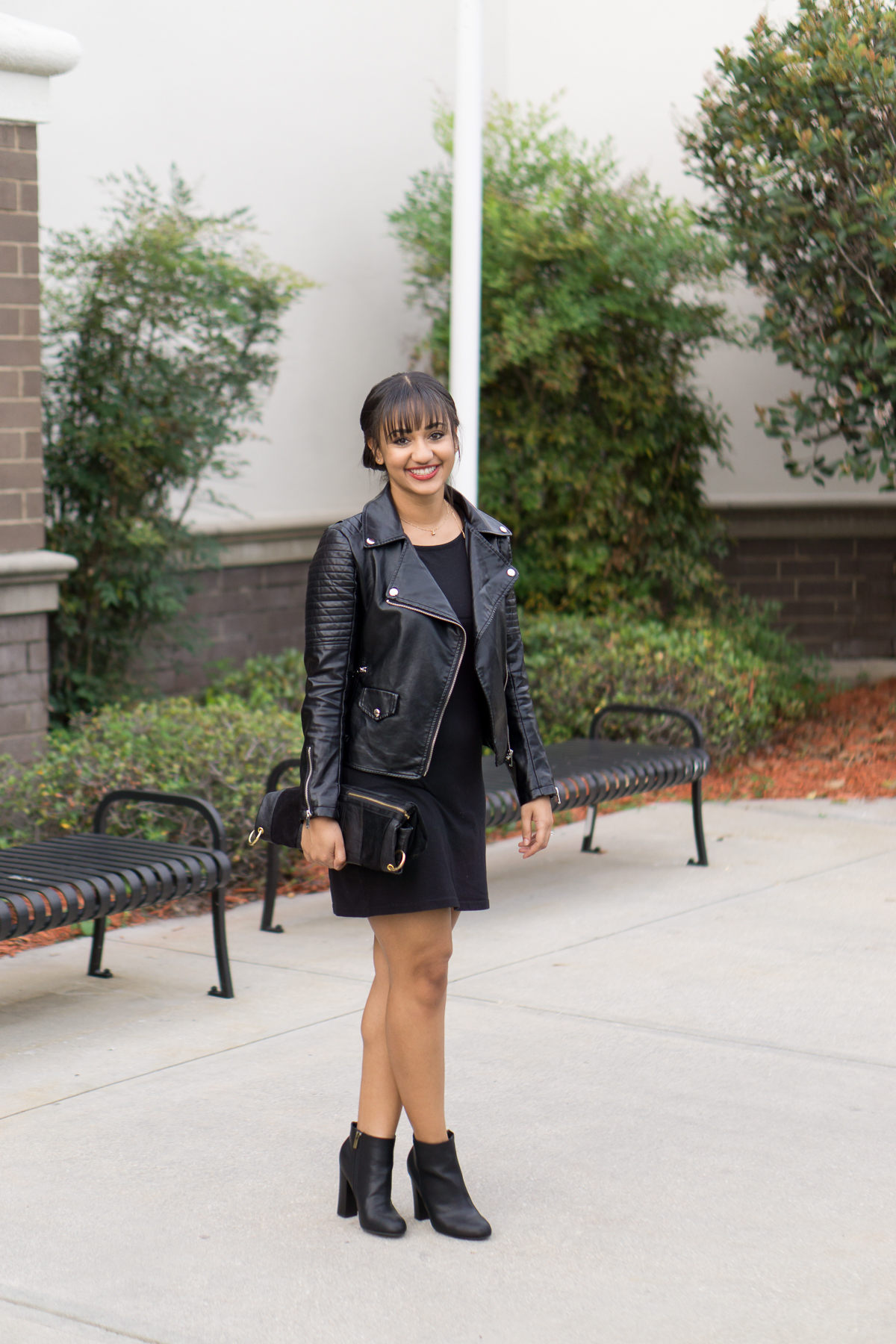 Leather Jackets for Fall in Florida- Monique McHugh Blog