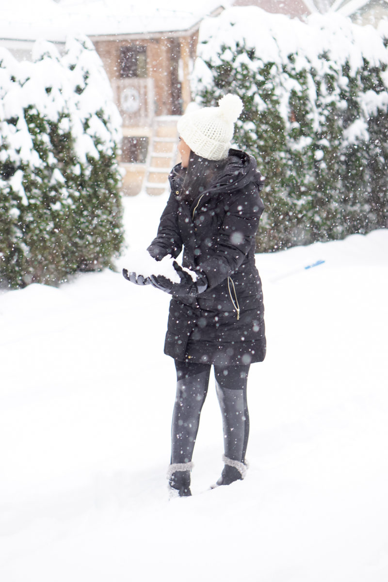 Snow Day Outfit- Monique McHugh Blog