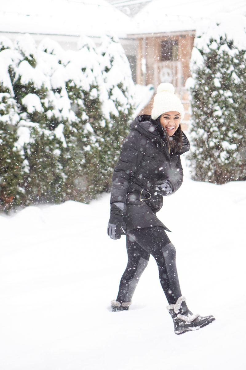 Snow Day Outfit- Monique McHugh Blog