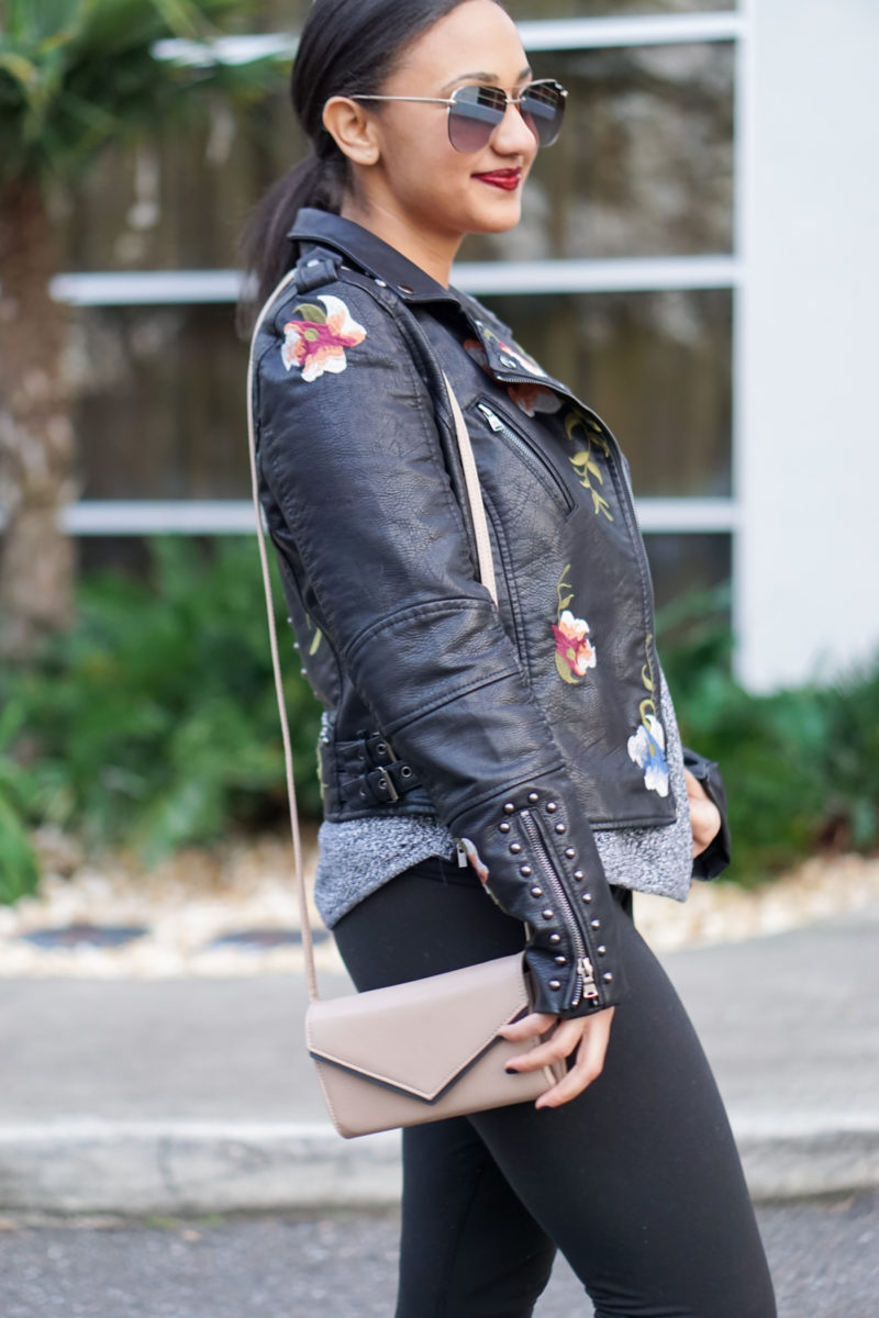 Blank NYC Leather Jacket Dupe- Monique McHugh Blog