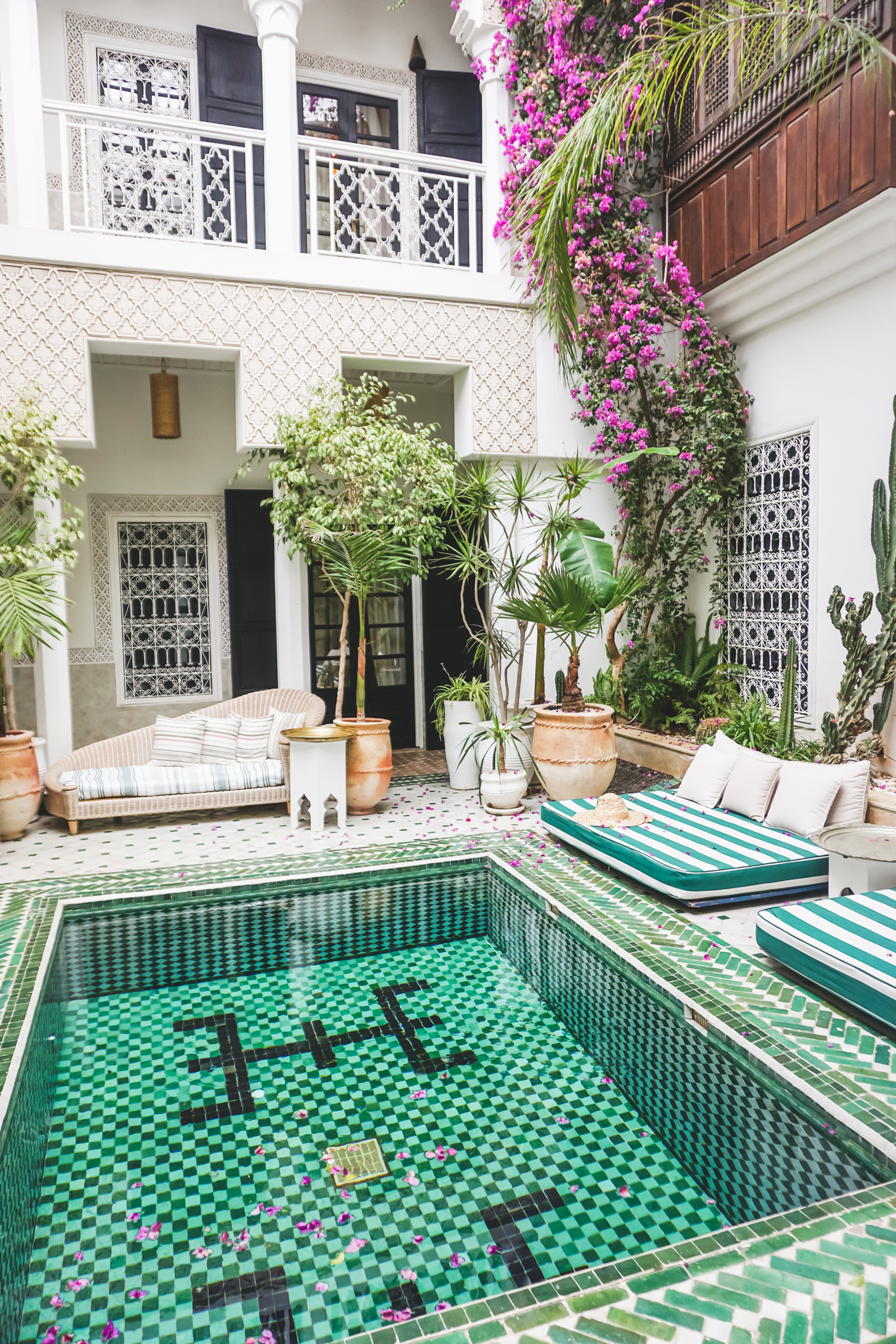 Le Riad Yasmine- Marrakech Morocco- Monique McHugh Blog