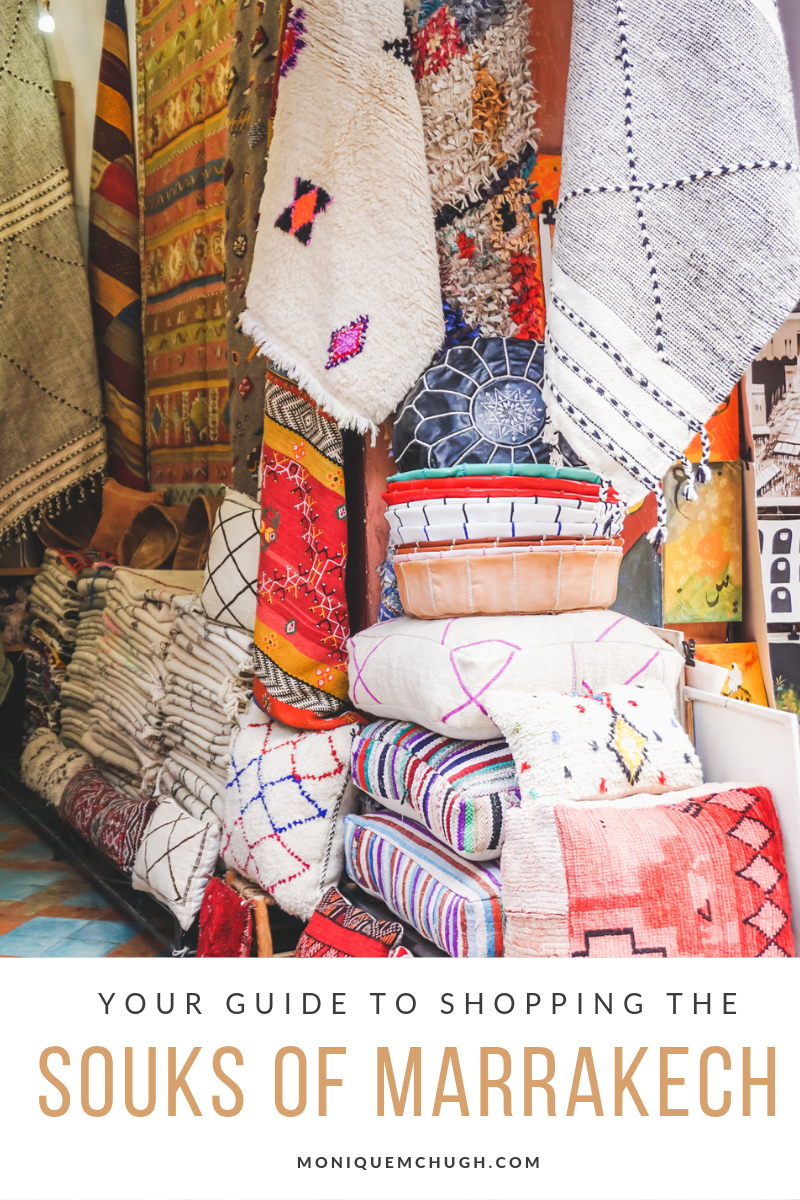 Your Guide to Bargaining in the Souks of Marrakech- Monique McHugh Blog, Morocco Travel Guides